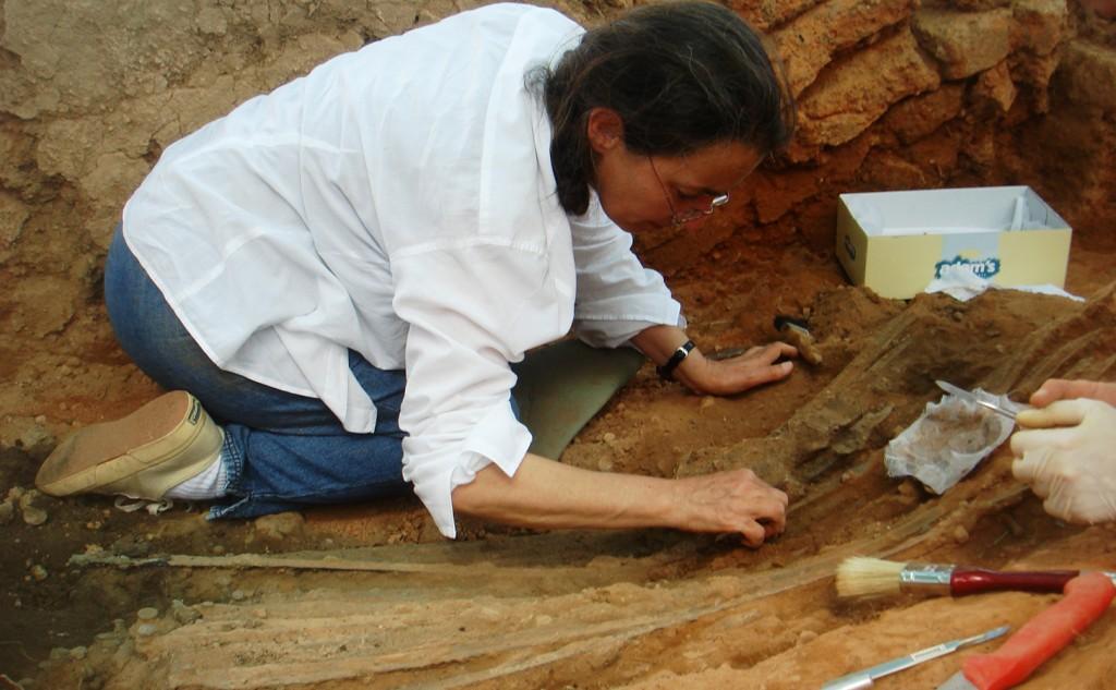 Nomination 63 PI Excavating a hoard of bronze swords s