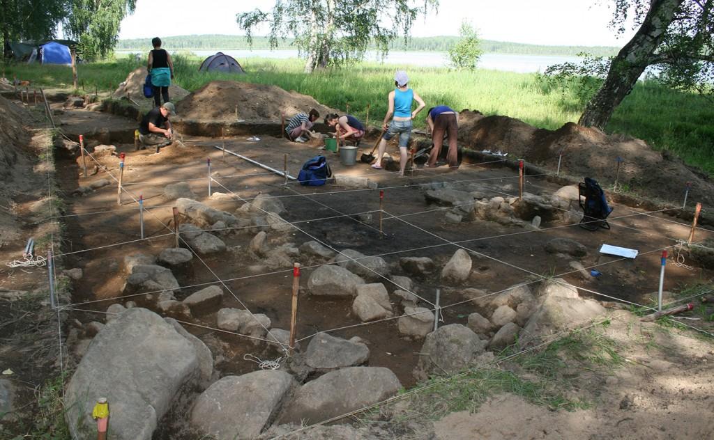 the excavation s